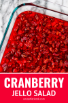 cranberry jello salad recipe