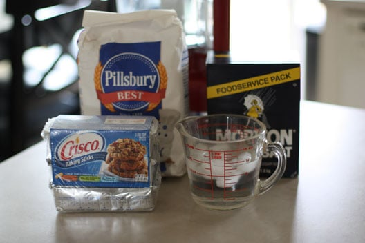 crisco pie crust recipe ingredients