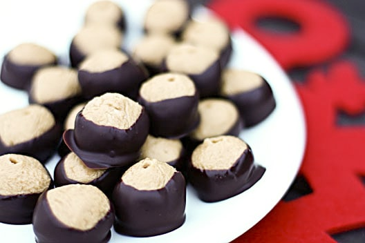 Buckeye Recipe {Peanut Butter Balls Recipe}