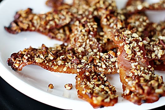 Maple Pecan-Crusted Bacon Recipe