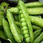 Perfectly Simple Fresh Buttered Peas