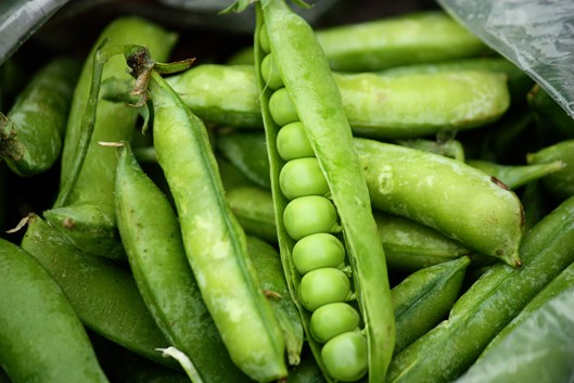 Fresh Buttered Peas Recipe