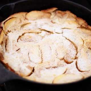 Apple German Pancake