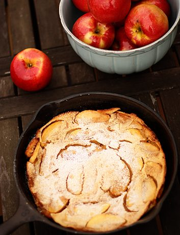 Apple German Pancake {Featuring SweeTango Apples}