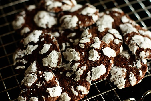 Chocolate Crinkle Cookies {My Fave}