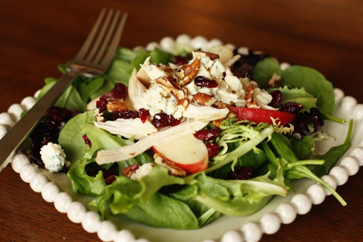 Rotisserie Chicken Apple Pecan Salad