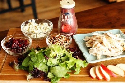 Rotisserie Chicken Apple Pecan Salad Unsophisticook