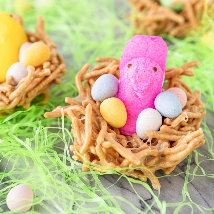peeps chick bird in a nest recipe
