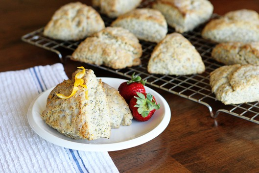 Lemon Poppy Seed Scones Recipe