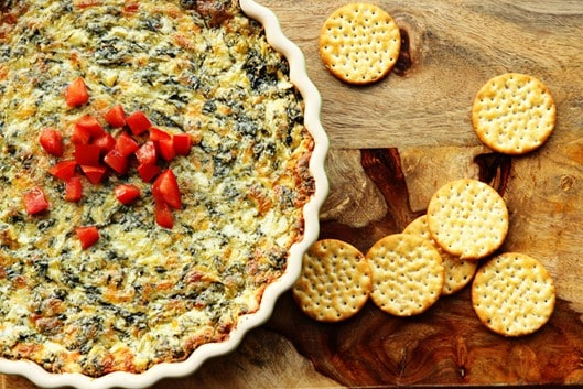 Lightened Up Spinach & Artichoke Dip Recipe