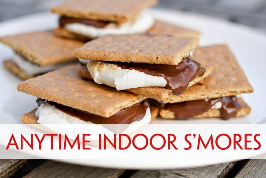 Anytime Indoor S'mores – Unsophisticook