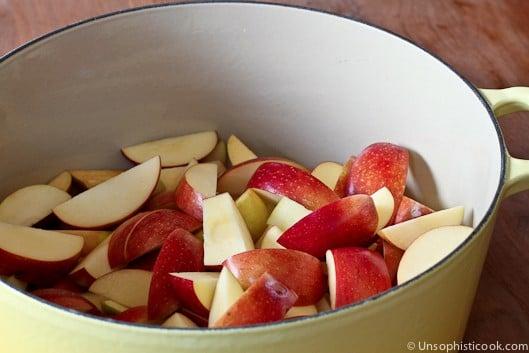 Classic Homemade Applesauce