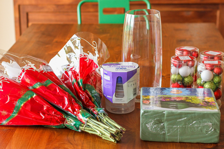 diy floral arrangement supplies