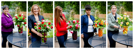easy christmas flowers arrangements with the walmart moms