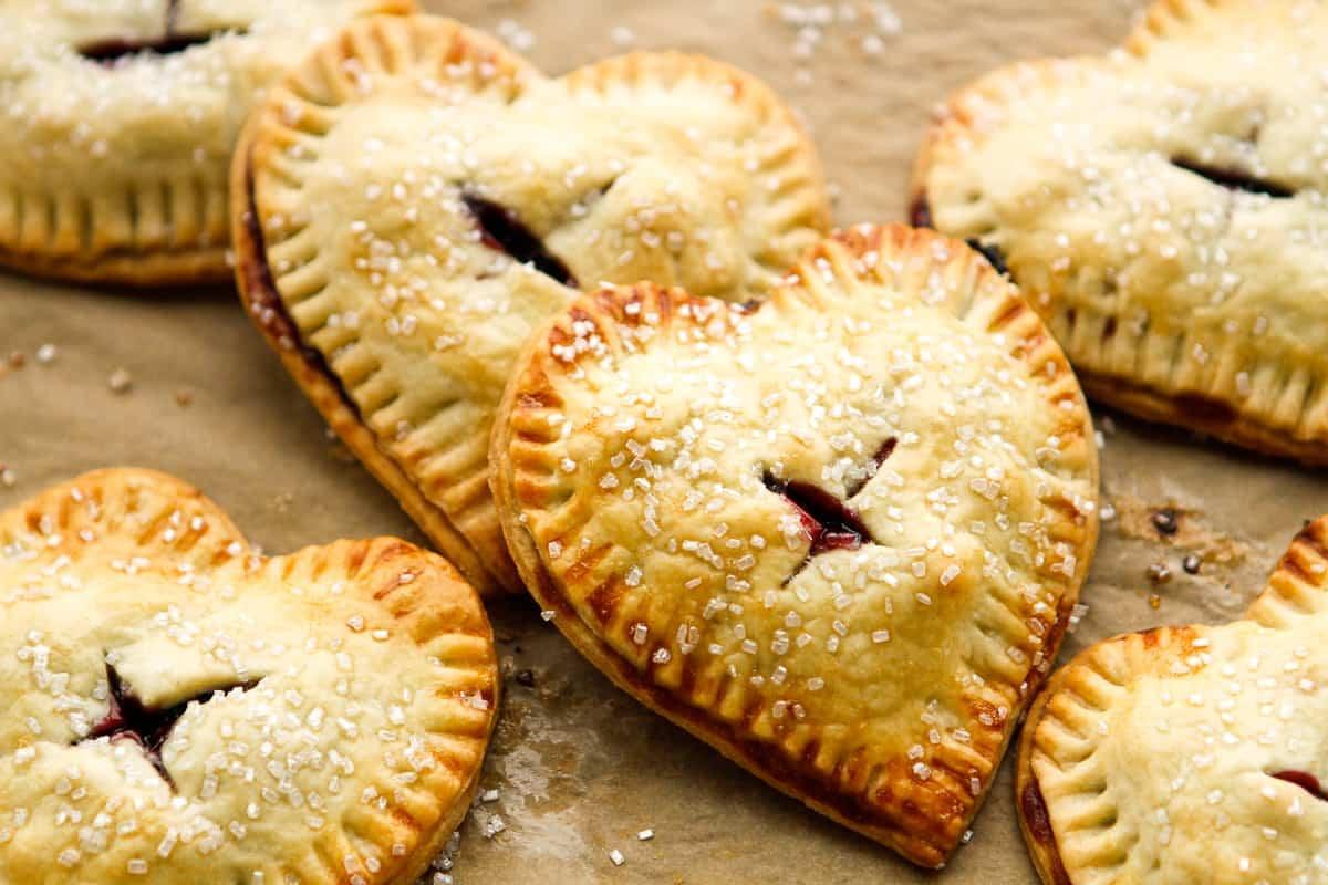 Simple Cherry Hand Pie Recipe
