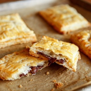 Homemade Nutella Toaster Pastries