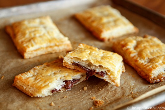 Homemade Nutella Toaster Pastries ~ Unsophisticook