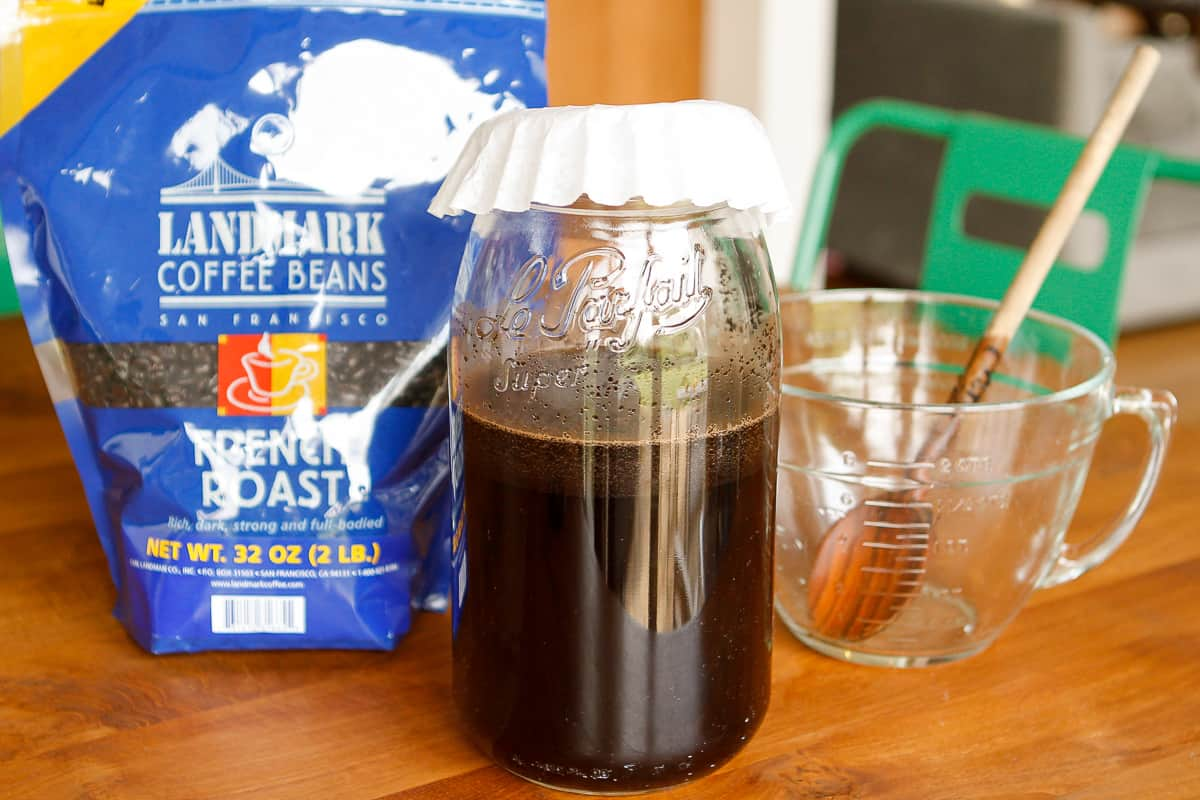 Brewing Homemade Iced Coffee