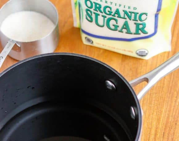 Double Strength Simple Syrup