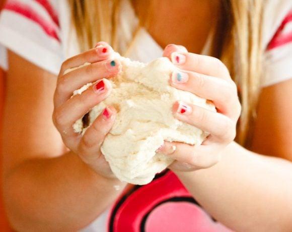 3-Ingredient Simple & Easy Salt Dough Recipe for Kids