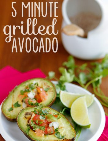 Grilled Avocado with Pico de Gallo
