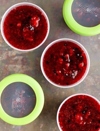 Easy Triple Berry Freezer Jam