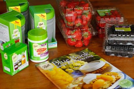 Freezer Jam Supplies & Ingredients