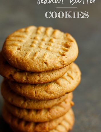 Homemade Peanut Butter Cookies + Rose Harbor in Bloom Review