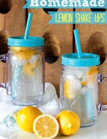 Homemade Lemon Shake Up Recipe