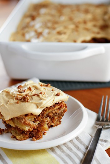 apple cake chopped apple walnut cake recepten yummly fresh apple cake ...