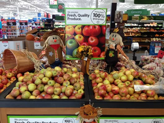 Applefest at Walmart