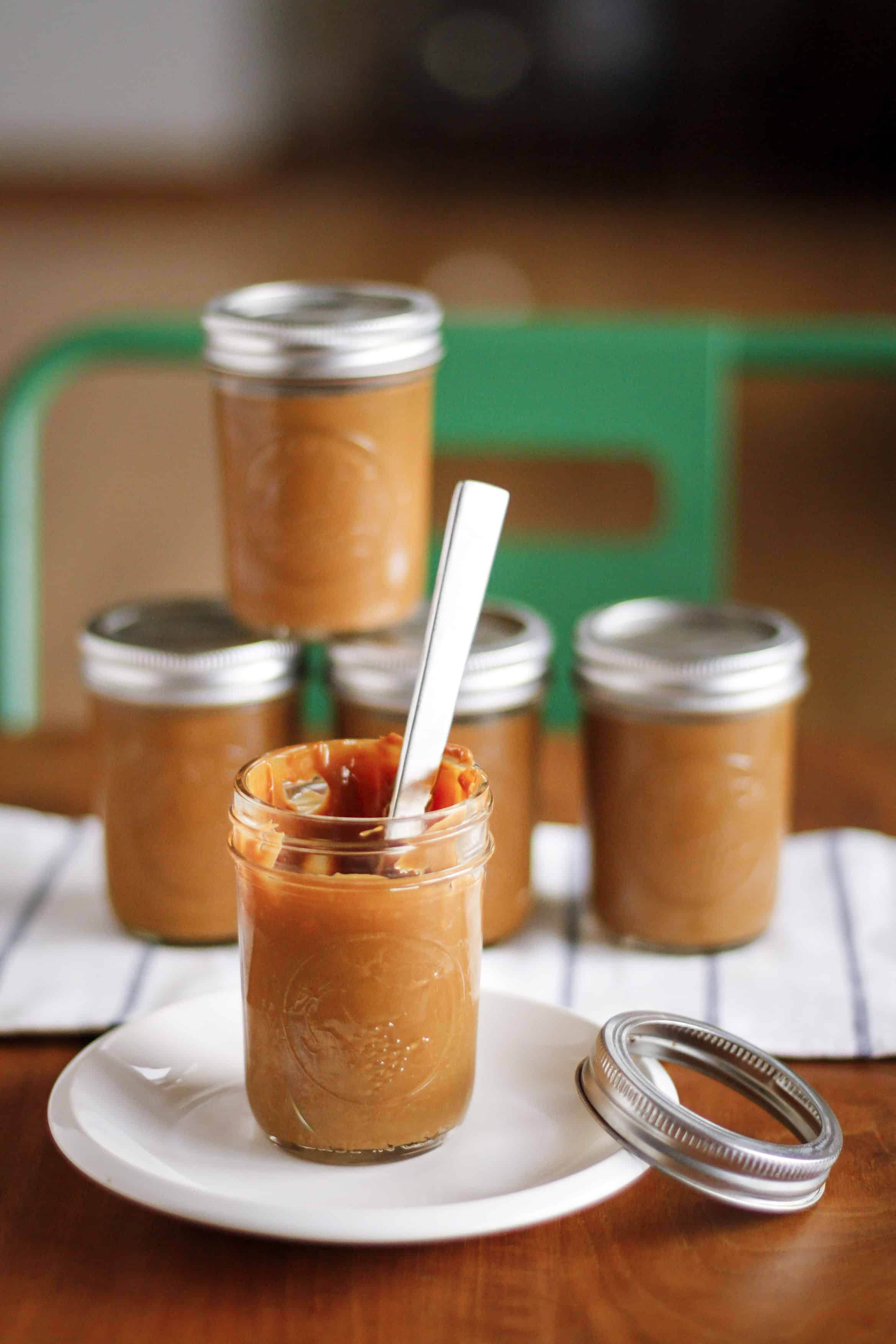 Homemade Caramel Sauce in Your Slow Cooker | AKA Dulce de ...