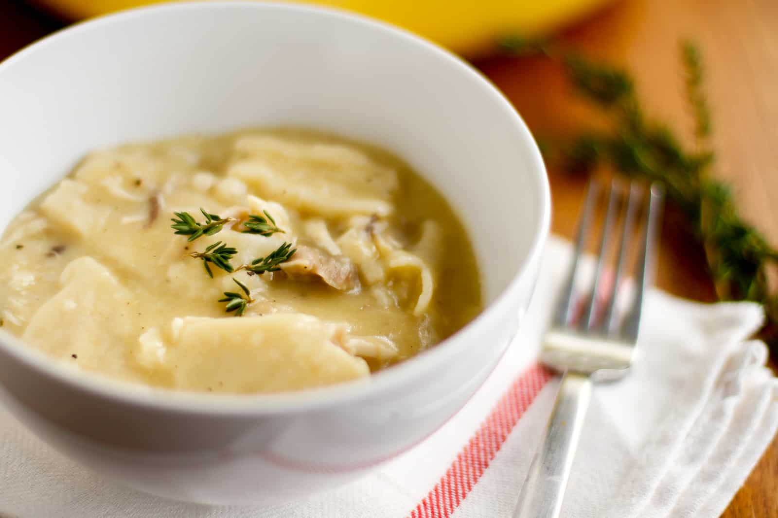 Easy Homemade Chicken and Dumplings