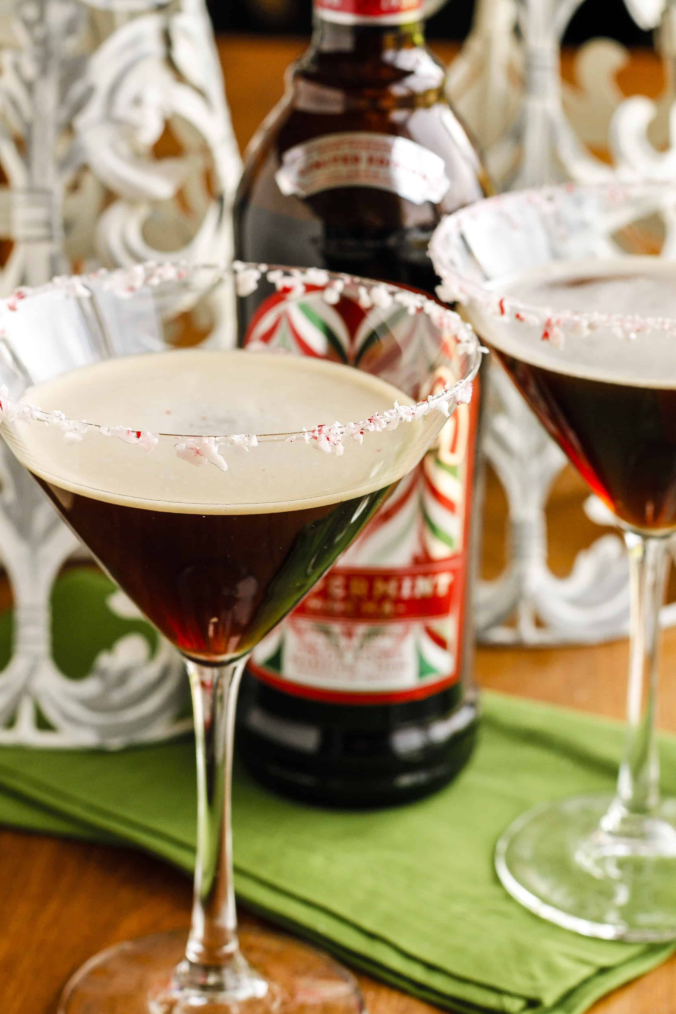 Peppermint Espresso Martini