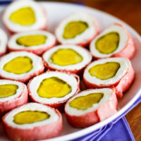 Dill Pickle Wraps Appetizer