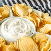 Copycat Lawson's Potato Chip Dip