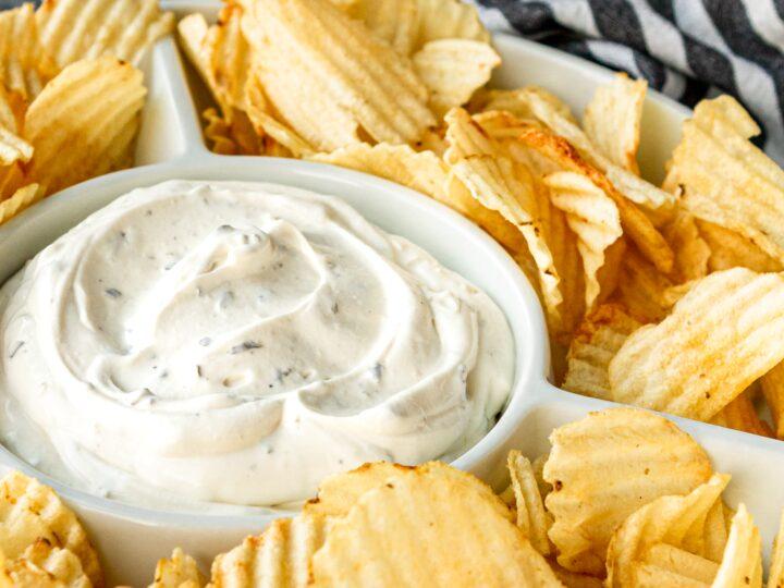 Copycat Lawson S Potato Chip Dip