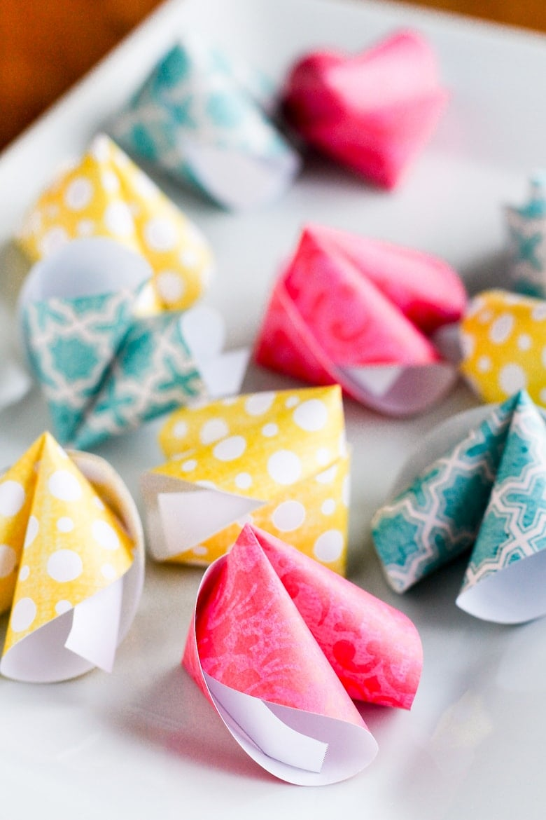 Paper Fortune Cookies How To | 1170x780
