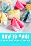 origami fortune cookies tutorial