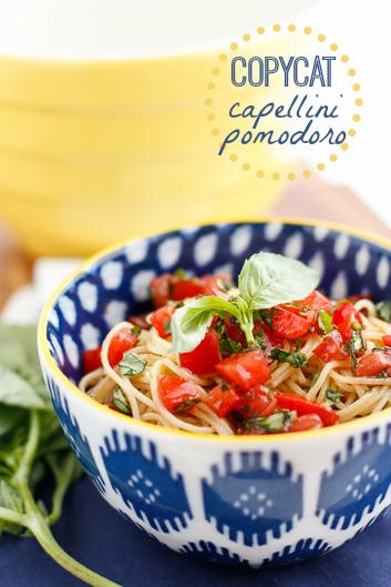 Capellini Pomodoro Recipe