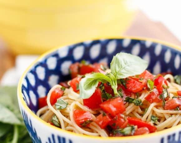 Copycat Olive Garden Capellini Pomodoro Recipe