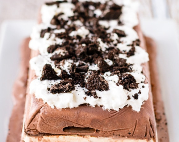 Easiest Ever No Bake Ice Cream Cake Recipe
