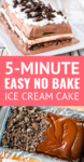 ice cream cake recipe made with ice cream sandwiches