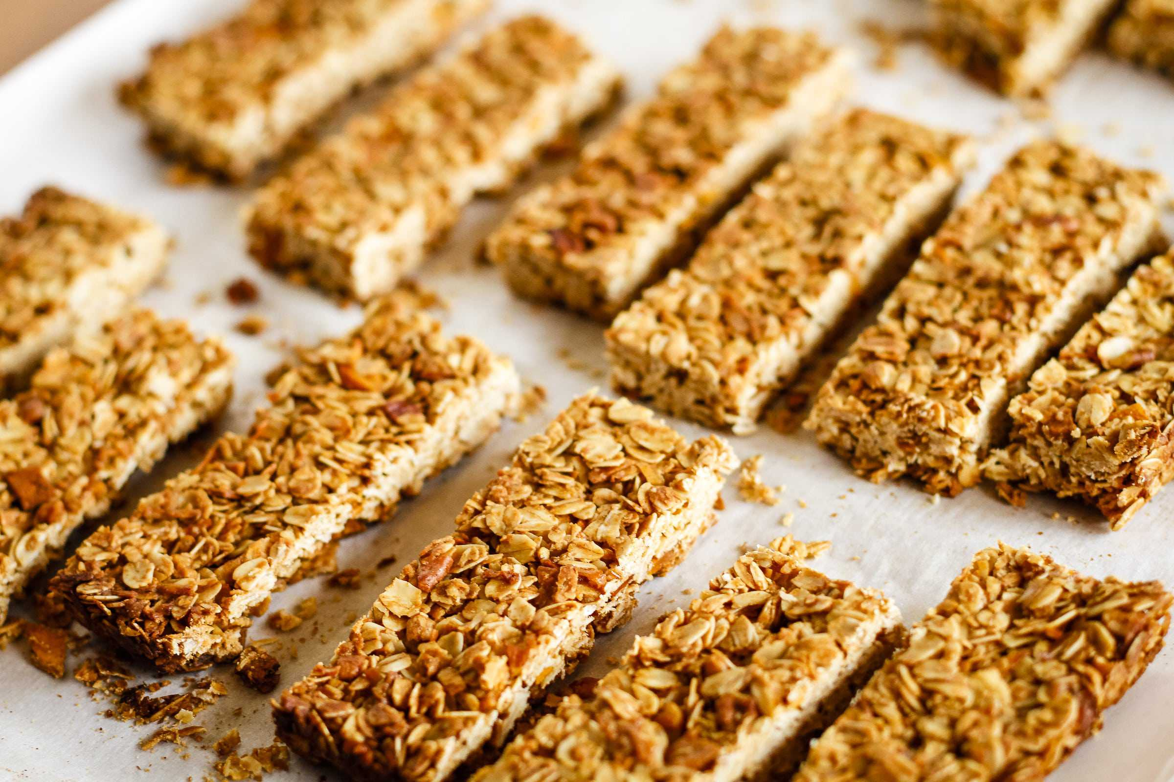 crunchy homemade granola bars recipe unsophisticook