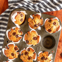 Espresso Chocolate Chip Muffins
