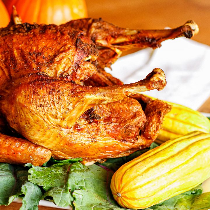 deep fried turkey recipe using a simple fried turkey rub