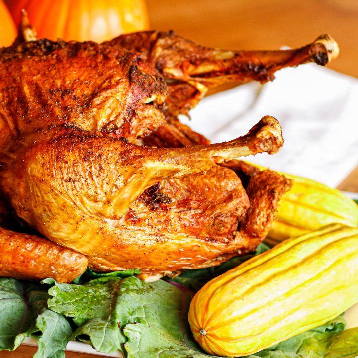 deep fried turkey recipe using a simple fried turkey rub