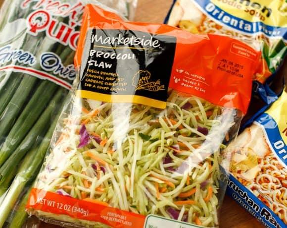 Broccoli Ramen Noodle Salad | Perfect Party or Potluck Side!