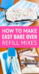 how to make easy bake oven refills with store bought cake mix