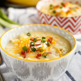 30-Minute Loaded Baked Potato Soup